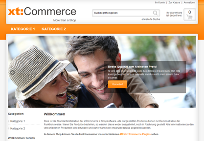 xt:Commerce Bilder Slider Startseite